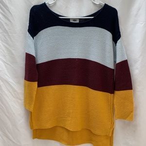 Old Navy Color-blocked Sweater